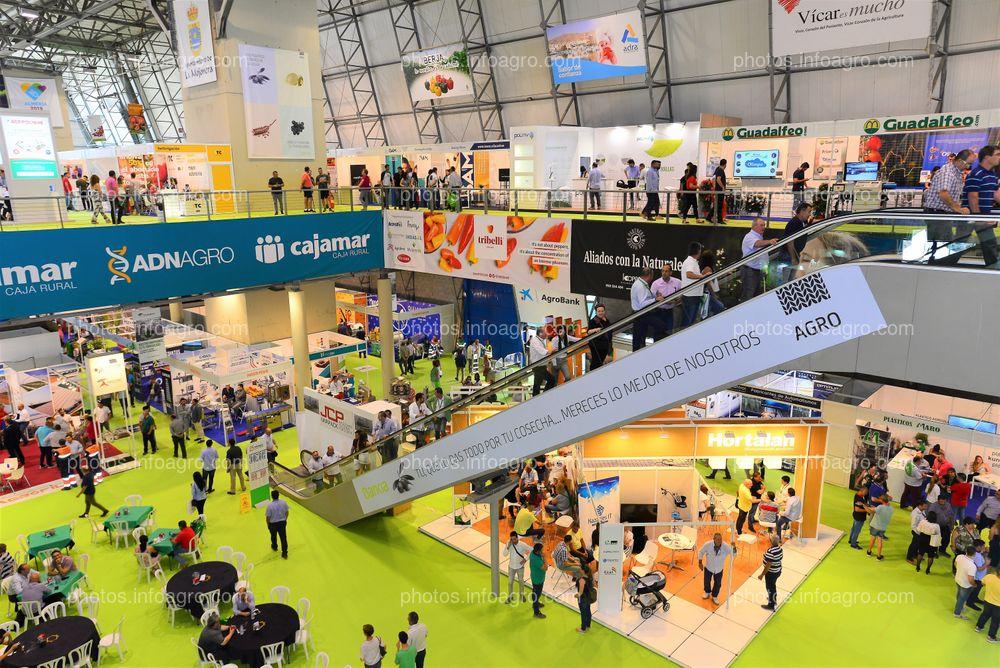Escalera mecánica - Espacios publicitarios Infoagro Exhibition