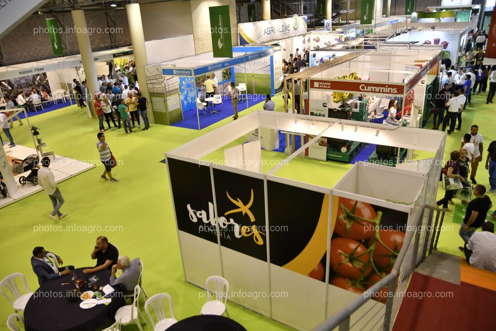 Paneles anexos cafetería central - Espacios publicitarios Infoagro Exhibition