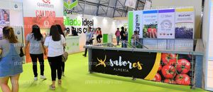 Barandillas escaleras - Espacios publicitarios Infoagro Exhibition