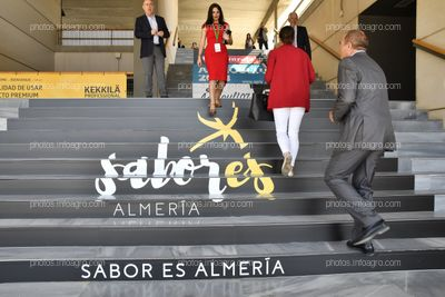 Escaleras exteriores - Espacios publicitarios Infoagro Exhibition