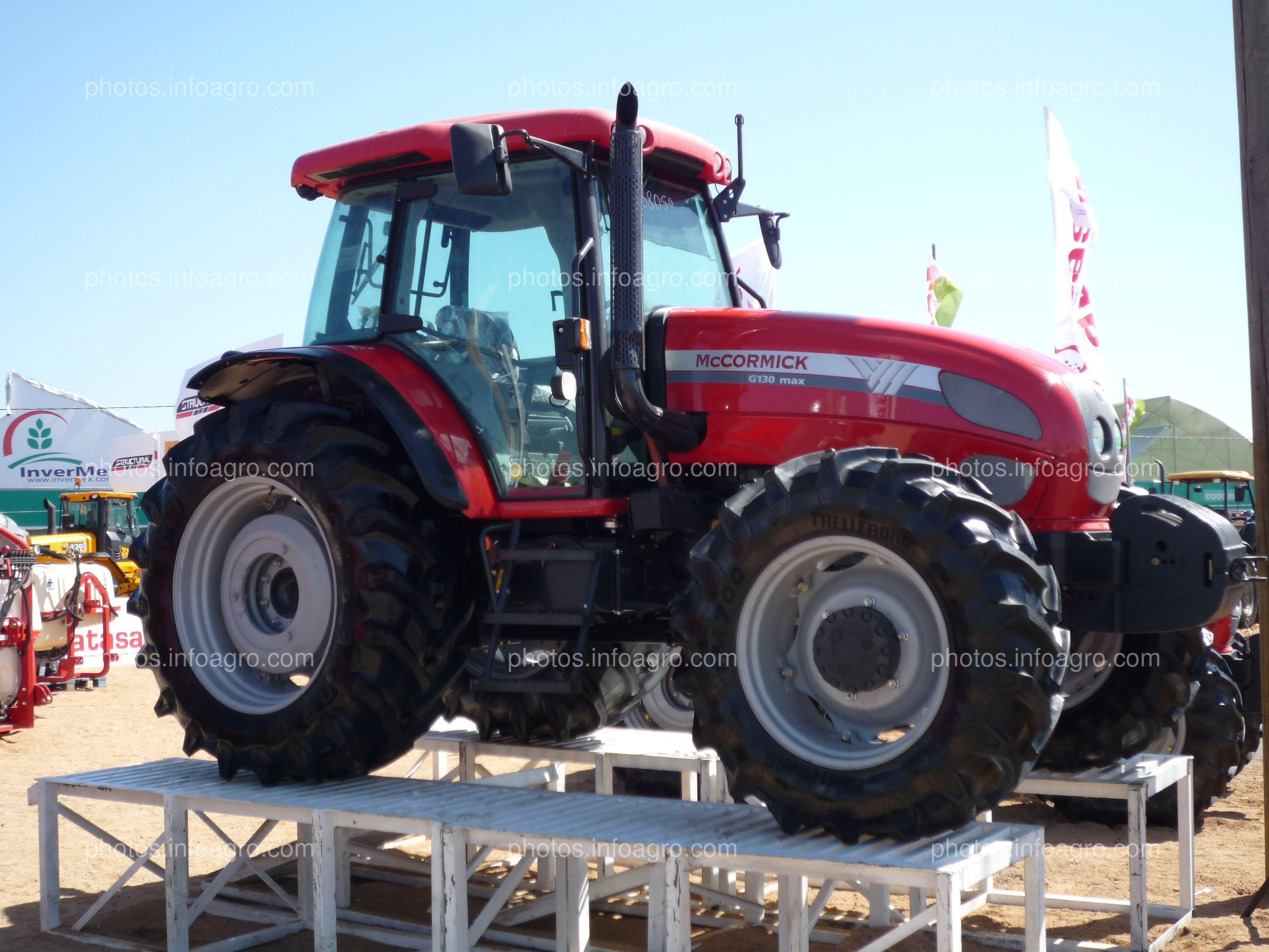 Tractor McCormick G130 Max