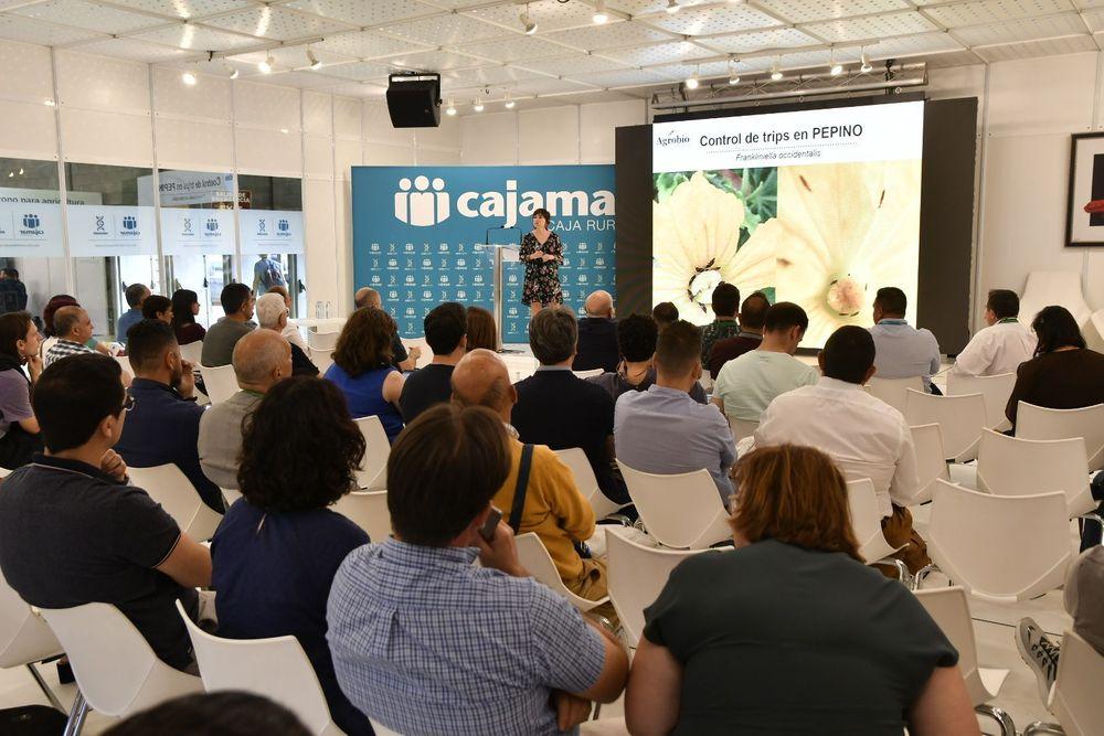 Una de las conferencias de Infoagro Exhibition 2019