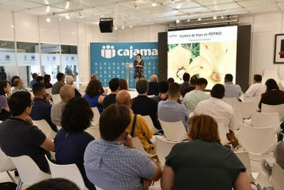 Una de las conferencias de Infoagro Exhibition 2019