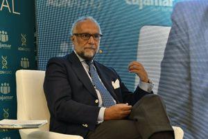 El economista José María O'kean, durante su ponencia en Infoagro Exhibition.