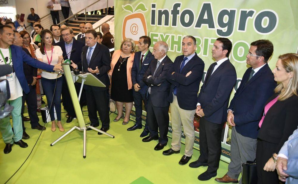 Acto de inauguración de Infoagro Exhibition 2019
