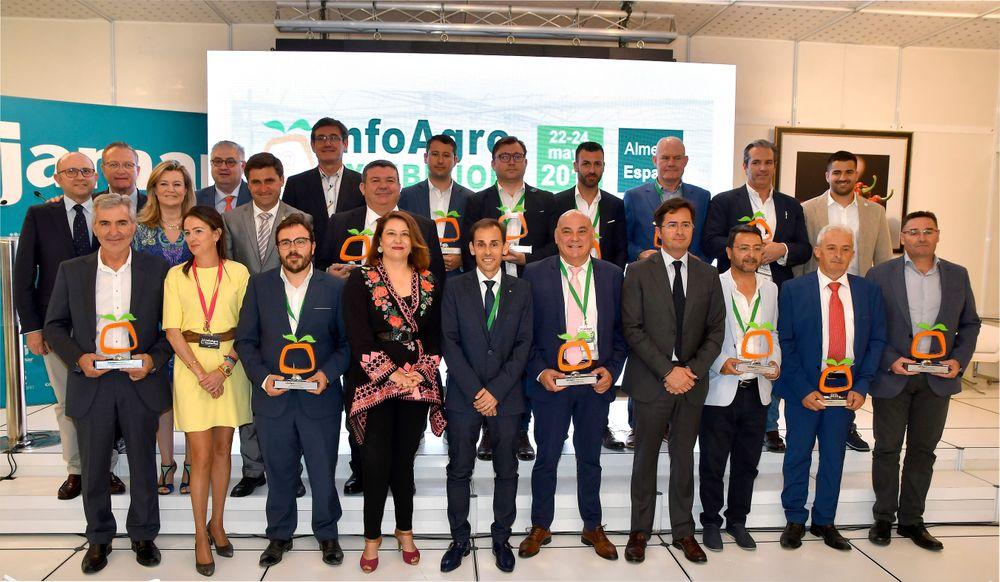Foto de familia de los Premios Empresas Infoagro Exhibition 2019