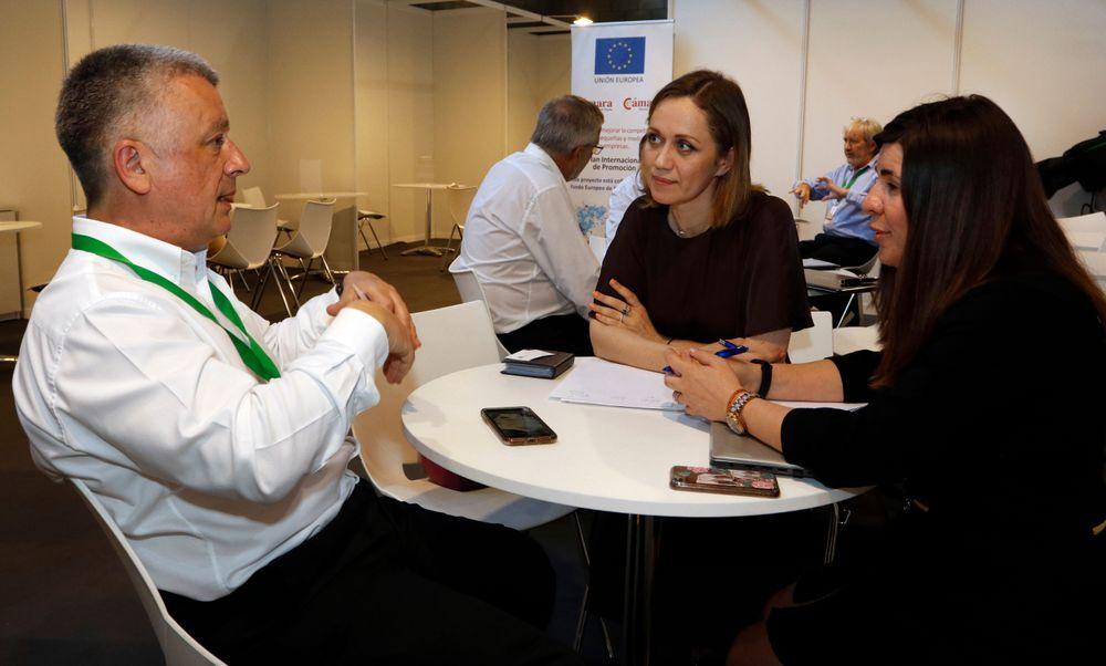 Reunión B2B entre empresas en Infoagro Exhibition 2019