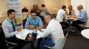 Reunión entre empresas en Infoagro Exhibition 2019