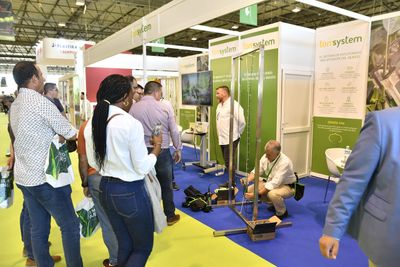 Visitantes profesionales internacionales se informan sobre productos en Infoagro Exhibition 2019