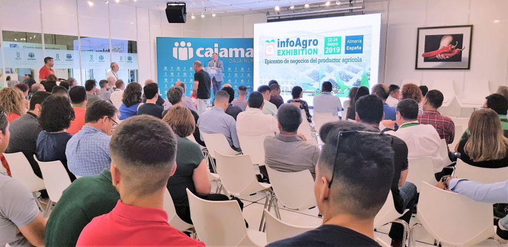 Unas de las ponencias en el ciclo de conferencias de Infoagro Exhibition 2019