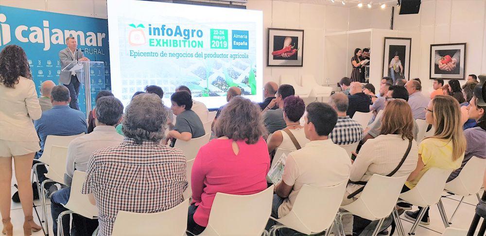 Una de las ponencias en el ciclo de conferencias de Infoagro Exhibition 2019
