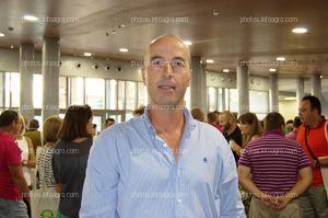 Alfonso Zamora, gerente de Ecohal, acudió al acto del 25 Aniversario de Agroiris.