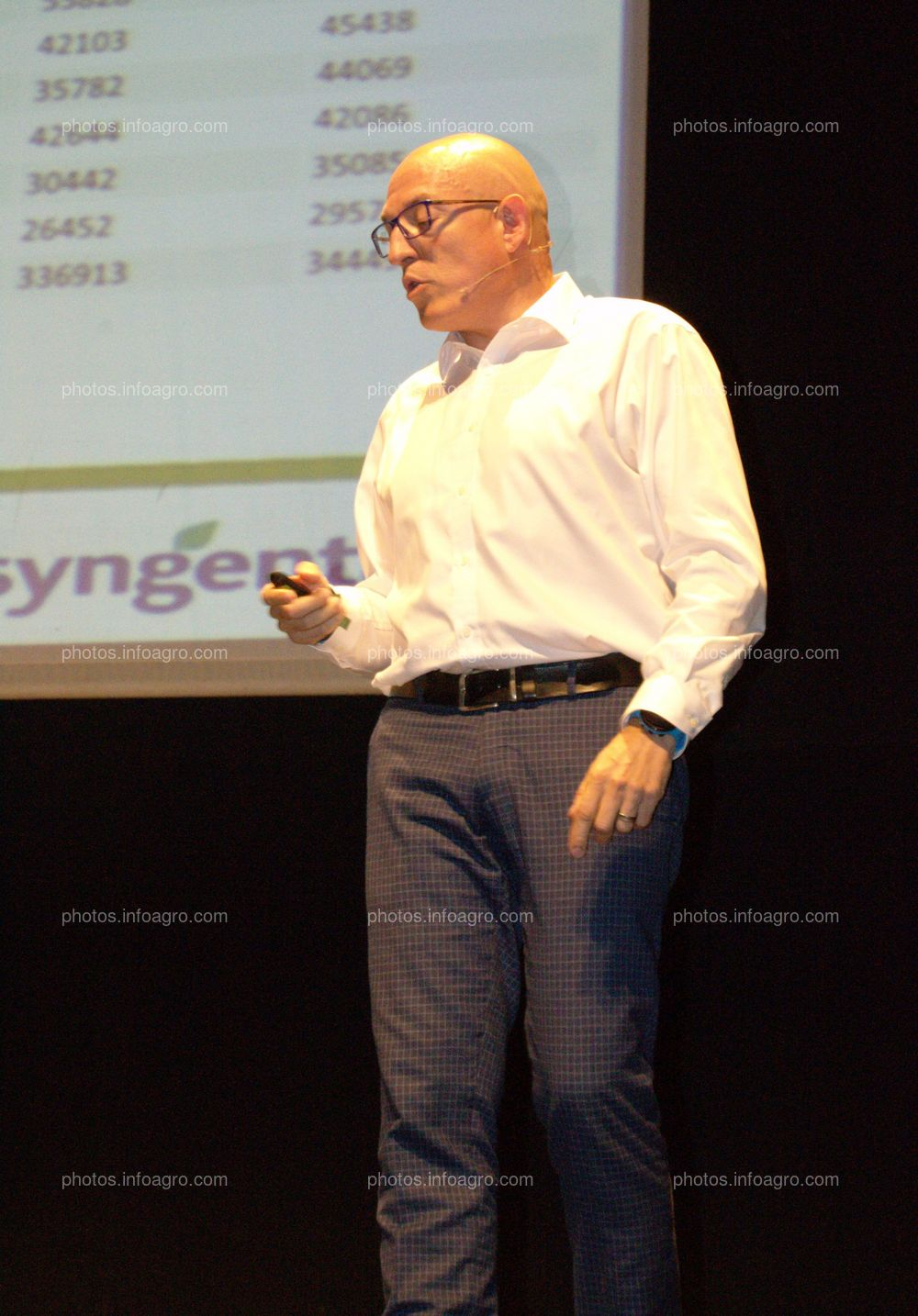 David Bodas, Vegs Seeds Value Chain Lead SWE de Syngenta, durante su ponencia en el acto de celebración del 25 Aniversario de Agroiris.