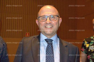 Manuel Gómez Galera, director general de Agricultura y Ganadería de la Junta de Andalucía, durante el acto del 25 Aniversario de Agroiris.