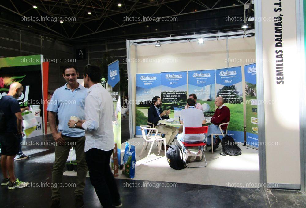 Stand de Semillas Dalmau en Iberflora 2019
