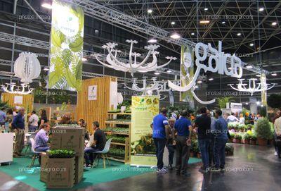 Visitantes de Iberflora 2019 en el stand de Vivergal