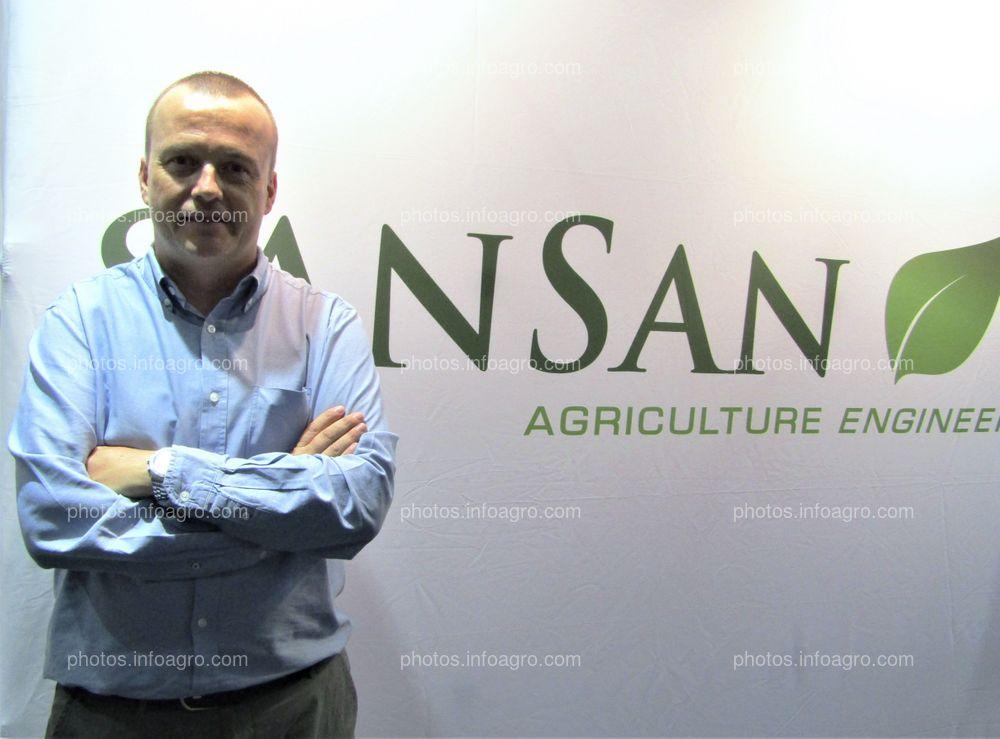 Carlos Gómez-Albo, responsable del Departamento Comercial de Sansan.