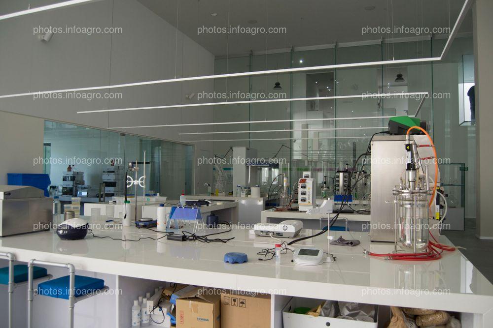 Laboratorio de microalgas del MAAVi de Kimitec