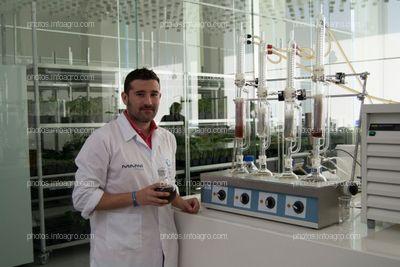 Efrén Remesal, director de I+D de la División Agro de Kimitec