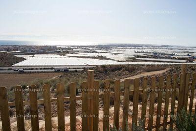 Vistas al Poniente almeriense desde las instalaciones del MAAVi de Kimitec