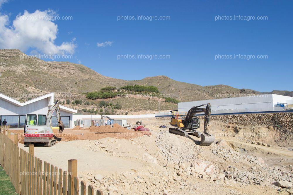Obras de la segunda fase del MAAVi, donde se construirá la nueva fábrica de la compañía